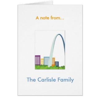 St. Louis Karte
