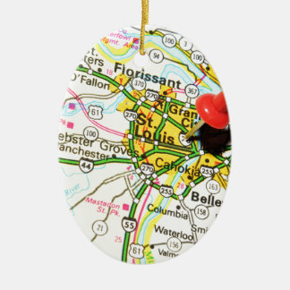 St. Louis, Missouri Keramik Ornament