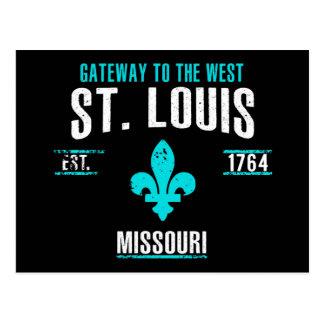St. Louis Postkarte