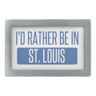 St. Louis Rechteckige Gürtelschnalle