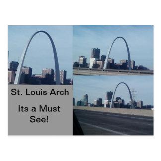 St.- Louisbogen Postkarte