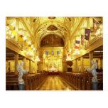 St.- Louiskathedrale (Innen), New Orleans, LA Postkarten