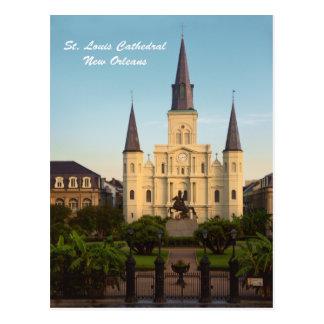 St.- Louiskathedrale New Orleans Postkarte