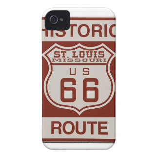 St.- Louisweg 66 iPhone 4 Cover