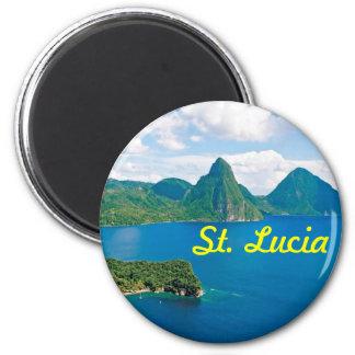 St- Luciamagnet Runder Magnet 5,1 Cm