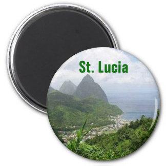 St- Luciamagnet Runder Magnet 5,7 Cm