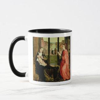 St Luke, das ein Porträt der Jungfrau zeichnet Tasse