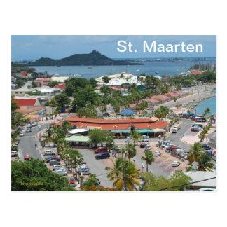 St. Maarten - Marigot Bucht Postkarte