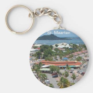 St. Maarten - Marigot Bucht Schlüsselanhänger