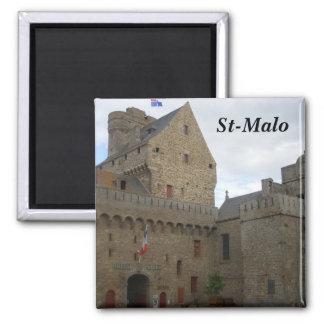 St-Malo - Quadratischer Magnet