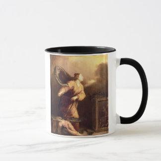 St Margaret neben dem besiegten Teufel (Platte) Tasse