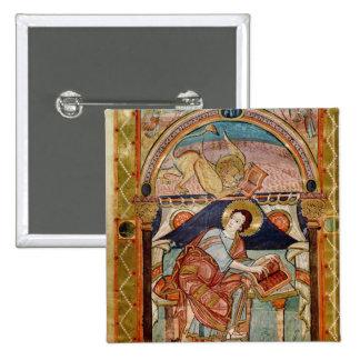 St Mark, französisch Quadratischer Button 5,1 Cm