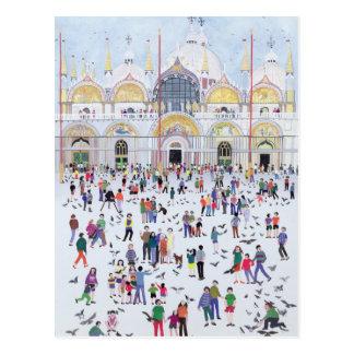 St Mark Venedig 1994 Postkarte