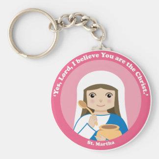 St. Martha Schlüsselanhänger