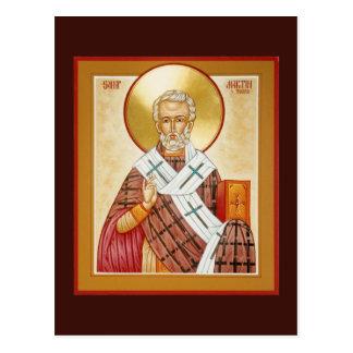 St Martin der Ausflug-Gebets-Karte Postkarte