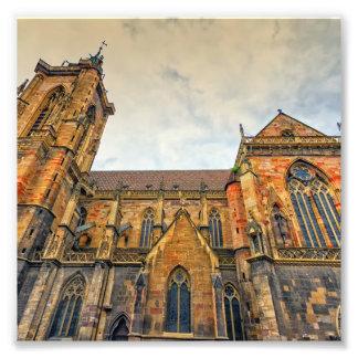 St Martin Kirche, Colmar, Frankreich Fotodruck