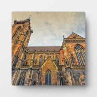 St Martin Kirche, Colmar, Frankreich Fotoplatte