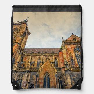 St Martin Kirche, Colmar, Frankreich Turnbeutel