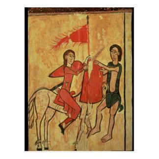 St Martin und der Bettler Postkarte