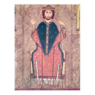 St Martin von Ausflügen, Detail von einem Altar Postkarte