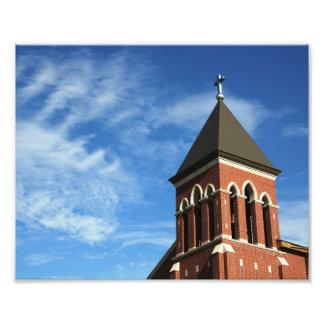 St Mary Glockenturm Fotodruck
