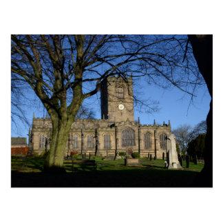 St Mary Kirche Ecclesfield. Postkarte