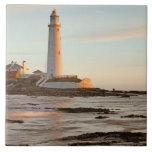 St Mary Leuchtturm-England Fliese/Trivet