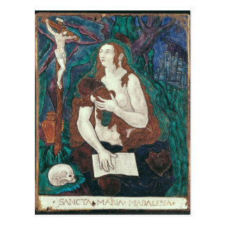 St Mary Magdalene, Limousin-Werkstatt Postkarte