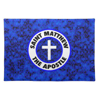 St Matthew der Apostel Stofftischset
