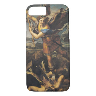St Michael, das den Dämon, 1518 überwältigt iPhone 8/7 Hülle