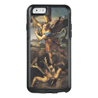St Michael, das den Dämon, 1518 überwältigt OtterBox iPhone 6/6s Hülle