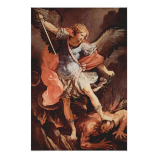St Michael das Erzengel-Plakat Poster