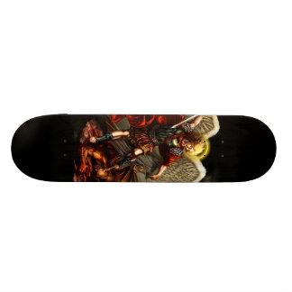 St Michael das Erzengel-Skate-Brett Individuelles Skateboard