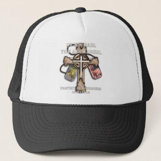 St Michael der Erzengel - schützen Sie unsere Truckerkappe