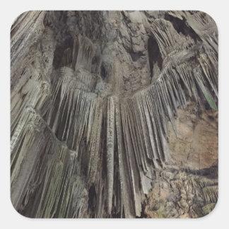 St Michael Höhle Quadratischer Aufkleber