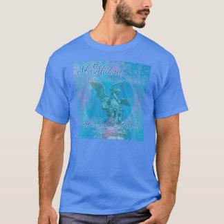 St Michael schützen u. verteidigen uns T - Shirt