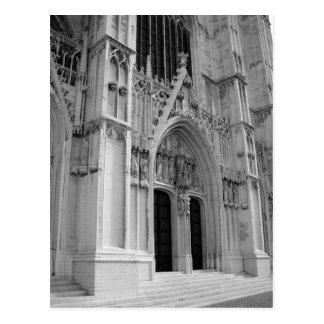 St Michael und Kathedrale St. Gudula Postkarten