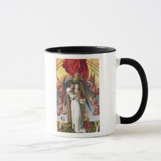 St Michael, welches die Soule wiegt Tasse