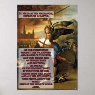 St- Michaelgebet Poster