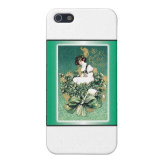 St Patrick Andenken-Vintage viktorianische Hülle Fürs iPhone 5