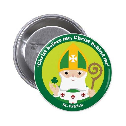 St Patrick Anstecknadelbuttons