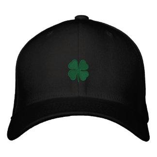 St Patrick der Tag gestickten die Kappe