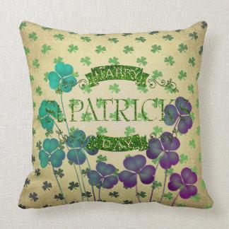 St Patrick Flugleitanlage Tageskissen-Sammlung Kissen