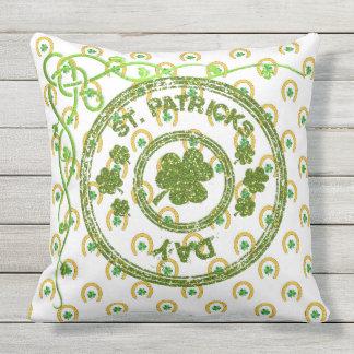 St Patrick Flugleitanlage Tageskissen-Sammlung Kissen Für Draußen