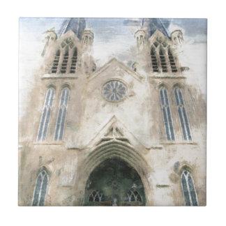 St Patrick gotische Wiederbelebungs-Kirchen-Kunst Keramikfliese