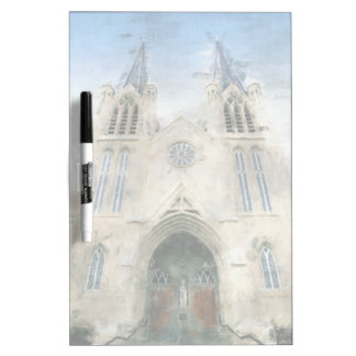 St Patrick gotische Wiederbelebungs-Kirchen-Kunst Memoboard