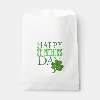 St Patrick Leckerei-Bevorzugungs-Tasche Geschenktütchen