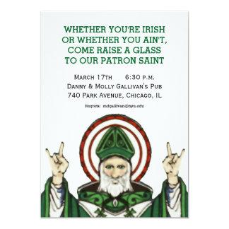 St Patrick Party Einladung