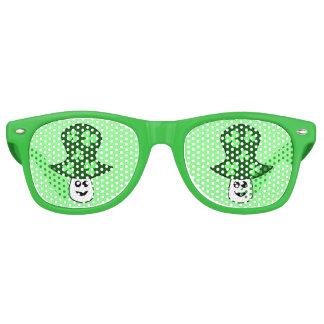 St Patrick Pilz-Party-Schatten Partybrille