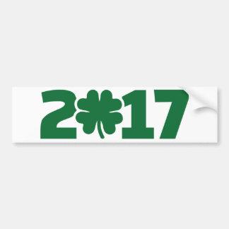 St Patrick Tag 2017 Autoaufkleber